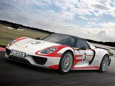 2014 Porsche 918 Spyder Hybrid