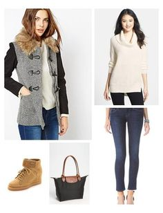 Strike that perfect balance between cozy and chic while running errands.