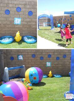 "{Girl Scout Week} ""Splish Splash"" Girl Scout Under the Sea Party"