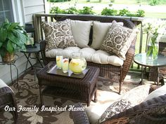 Our Family Inspired Home: Front Porch