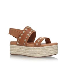 Raetin Tan Flatform Sandal from Vince Camuto