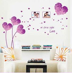 Decorar paredes con vinilos adhesivos