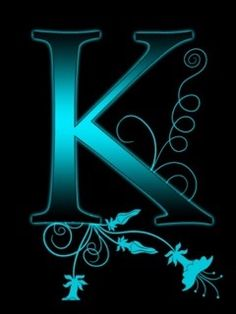 Flowery Wallpaper Mobile Wallpaper Initials Letters Backgrounds Letter K Alphabet