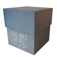 I pinned this Embroidered Terra Moon Silk Box from the Siw Thai Silk event at Joss & Main!