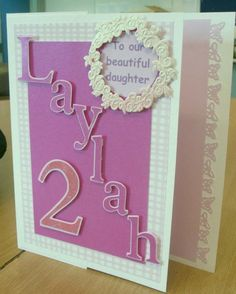 Birthday Card For My 2 Year Old Niece