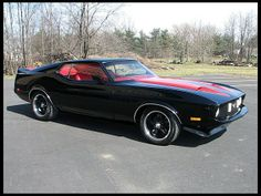 '73 Mustang Mach 1...this car needs me just as much as I need it!
