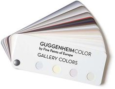Guggenheim Colors by Fine Paints of Europe