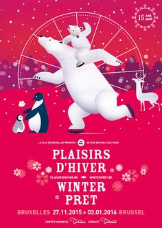 Here´s the new Plaisirs d´Hiver´s visual! This winter don´t miss the magic of the Brussels´ Christmas Market!