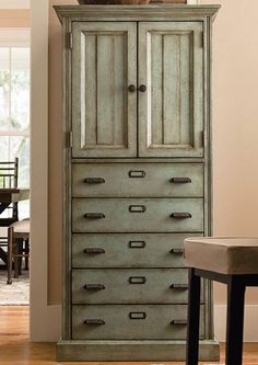 Clayton Cabinet in Screen Door