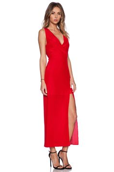 Myne Dawn Maxi Dress in Poppy | REVOLVE