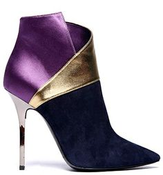 Diego Dolcini colorblock booties From Love Style Magic: 09.2011 via Ann Levin