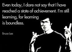 'Even today, I dare not say that I have reached a state of...'-Bruce Lee [473 × 347]
