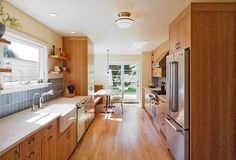 """Depending on the structure of your house, galley kitchen is the best option before you think about remodeling. Today we are showcasing """"20 Best Small Galley Kitchen Ideas""""."""