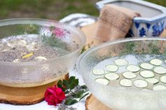 Hand-washing Station at an outdoor dinner party!