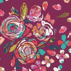 Swifting Flora in Boho (RAYON) $6.98