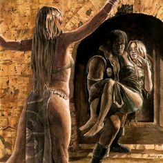 Conan The Barbarian Pin-up, 2015/16 #art #conan #conanthebarbarian #robertehoward #arte #originalart #watercolor #illustration #fantasia… #watercolorarts
