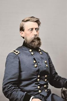 size: Photographic Print: Major General Jefferson C. Davis of the Union Army, Circa 1860 by Stocktrek Images : American Civil War, American History, Unknown Soldier, Union Army, Major General, Looking Stunning, Professional Photographer, The Past, Wild West