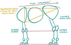 You've asked me a lot for a centaur tutorial but I absolutely suck at doing stuff like that because I rely so much on my own eye measuring and I almost never do sketches like this, so bear with me. 1:...
