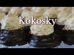 Baking Videos, Food Videos, Baking Recipes, Snack Recipes, Snacks, Czech Desserts, Ice Cream Candy, Czech Recipes, Small Desserts