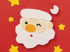 Christmas Figures & Decorations 1680x1050 - 1600x1200 Lovely Santa Claus Paper Card photo 15