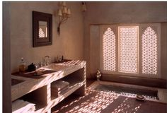 Relais & Chateaux - The intoxicating fragrance of the herb garden and fig and olive orchards, wafts through the air of the magical Ksar Char-Bagh, a Moorish palace nestling in the palm grove of Marrakech, just ten minutes from the Medina. Ksar Char-Bagh #relaischateaux #morocco