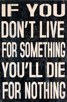 Live For Something Wall Decor