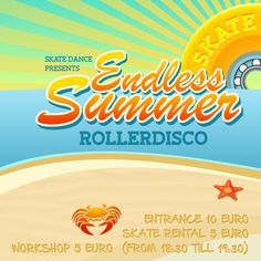 Endless Summer Roller disco tomorrow in Club Lite Amsterdam. Stoked to be back after the summer break and feel free to come and join the fun on the smooth dance floor