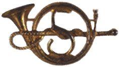 5eme Chasseurs-Insigne porté vers 1911