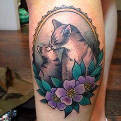 51 cats love tattoo