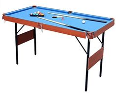 HLC 55 Folding Space Saver Pool Billiard Table ** Check out the image by visiting the link. (This is an affiliate link)
