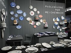 Maison&Objet: Cerámica de Paola Navone para Reichenbach. http://nuevo-estilo.blogs.nuevo-estilo.es/2012/02/03/maisonobjet-el-paris-de-las-tendencias/