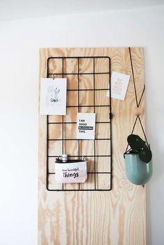 Easy Peasy Ikea-Hack - gestalte dein Blumenspalier um zu einem Wand-Organizer für's Arbeitszimmer!