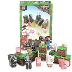 Gamerzoutlet.com - MINECRAFT PAPERCRAFT - Animal Mobs, $17.99 (http://www.gamerzoutlet.com/minecraft-papercraft-animal-mobs/)