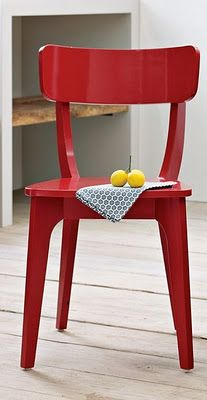 TALIA Red dining chair Chairs Kitchen chairs and Habitats