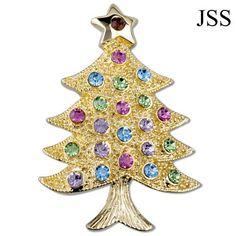 Oh Christmas Tree Brooch Lapel Pin
