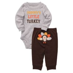 My First Thanksgiving Outfit Boy April 2017