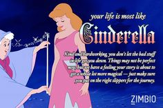 My life is most like Cinderella! Which fairy tale is your life like?