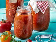 Tomatensoße einkochen für den Vorrat
