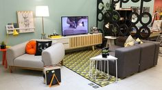 Compre Sala de Estar Sofá Modus # Oppa