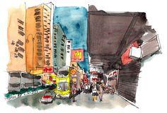 Hong Kong 2015 Sketching Trip