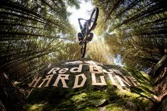"""Brook Macdonald performs during the Red Bull Hardline 2016 in Dinas Mawddwy, United Kingdom. <a href=""""https://www.redbullphotography.com/editors-choice/AP-1PKT19FK51W11"""">Click to see more on redbullphotography.com</a> Dan Hearn / Red Bull Content Pool"""