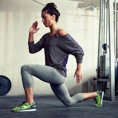 get your bum looking fit with lunges