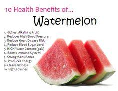 10 Health Benefits of Watermelon