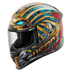 Icon Airframe Pro Pharaoh Helmet at RevZilla.com