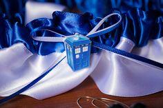 Teeny Tiny Tardis Garter #DoctorWho #wedding