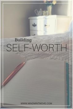 Build self-worth by getting to know yourself, focusing on you, and monitoring your self-talk. Self-love and self-worth are closely linked and it is important to have both. Building Self Esteem, Confidence Building, Spiritual Health, Mental Health, Self Confidence Tips, Focus On Yourself, Getting To Know Yourself, Self Acceptance, Self Talk