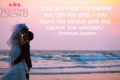 Inspirational Wedding Quotes #54...Love this inspiration!! Don't you?