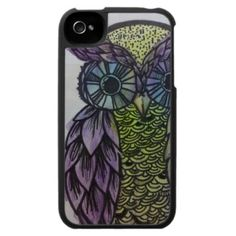 Awesome Owl watercolor iPhone case :)