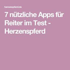 7 nützliche Apps für Reiter im Test - Herzenspferd