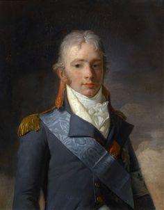 Charles Ferdinand d'Artois, duc de Berry, Henri-Pierre Danloux, 1796